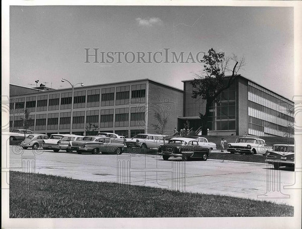 1961 Press Photo Franklin Bell hall in Fort Leavenworth, Kansas. - nea51674 - Historic Images