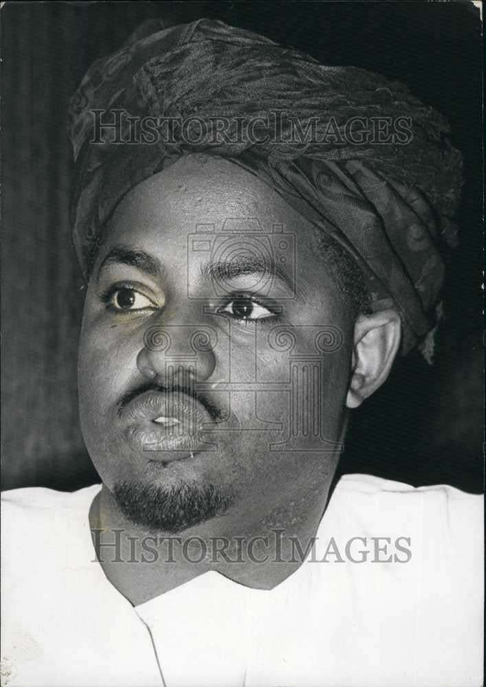 Press Photo Ahmen Khalifa Niasse, Islamic Leader - Historic Images