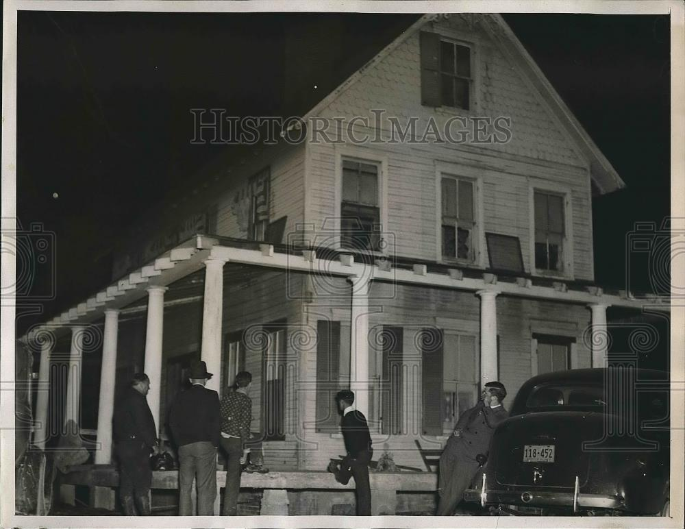 1938 Press Photo Oxen Hill Home of Mary Brown, Victim of Kidnapping - Historic Images