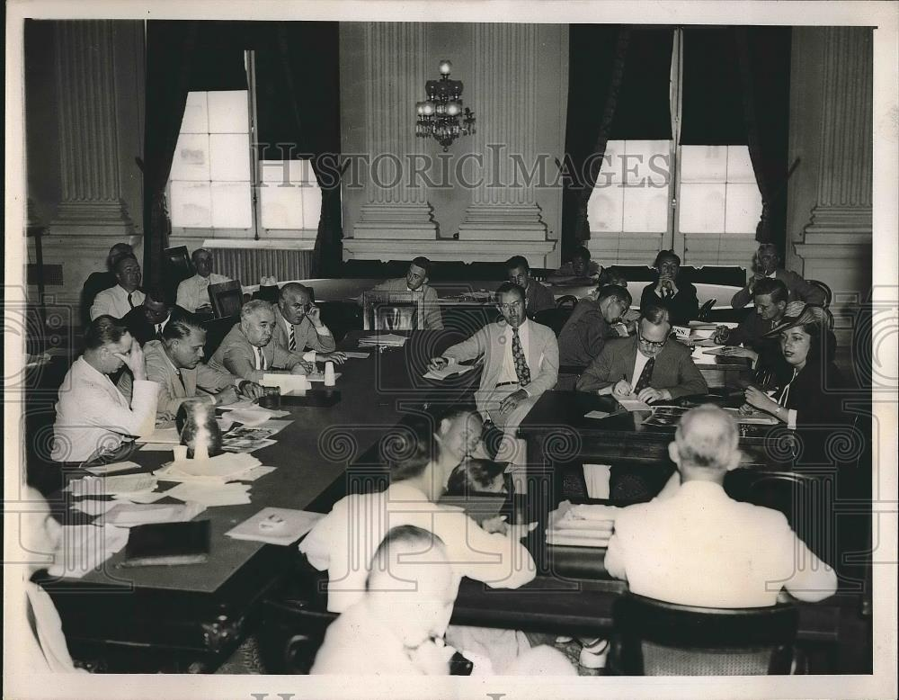 1939 Press Photo Dies Un-American investigating committee Hearing in Washington. - Historic Images