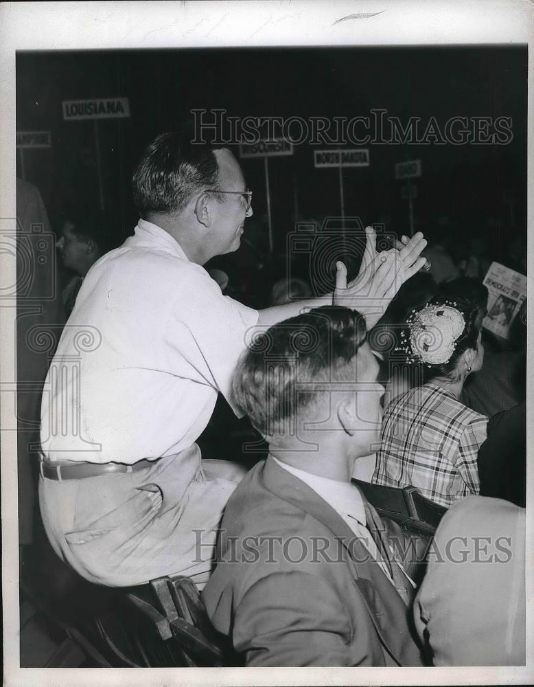 1944 Press Photo Marty Wolfson Alternate Newark Democratic National Convention - Historic Images