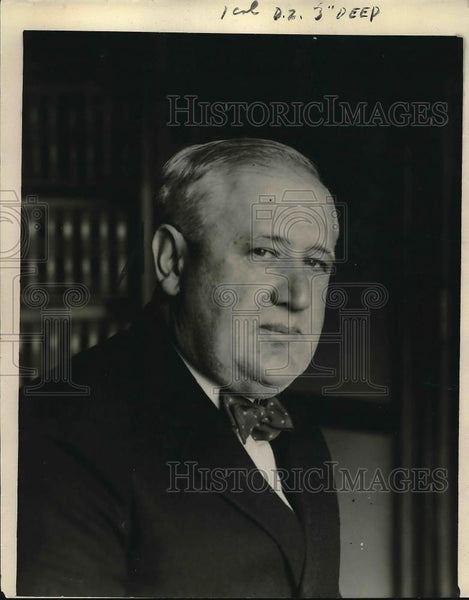 1921 Press Photo Mathew Brady DA w/c directed the prosecution on the Roscoe - Historic Images