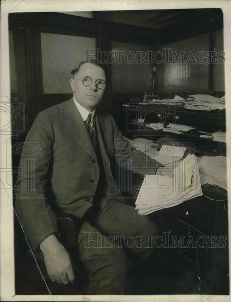 1921 Press Photo Charles O'Connor Federal Prohibition Director of New York - Historic Images