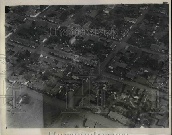 1931 Press Photo Aerial view Managua, Nicaragua - neb02479 - Historic Images