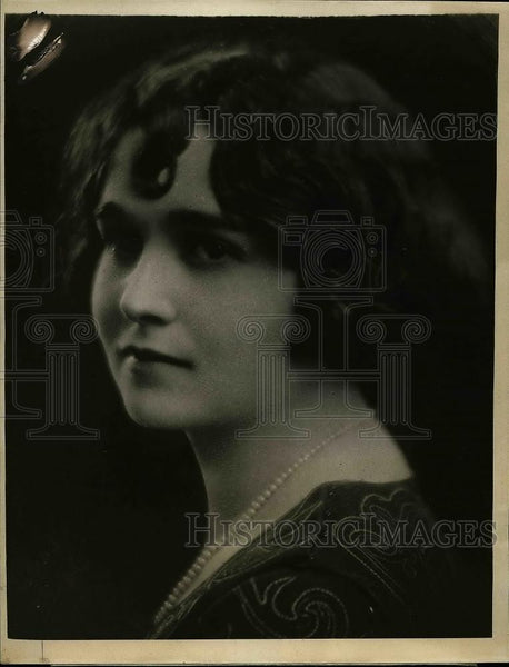 1923 Press Photo Ruth Schreiber - Historic Images