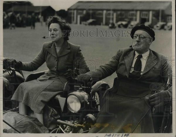 1948 Press Photo Britains Invalid Tricycle Association Stage - Historic Images