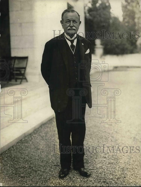 1923 Press Photo Dr. E. S. Zeballos, pres. International Law Association - Historic Images