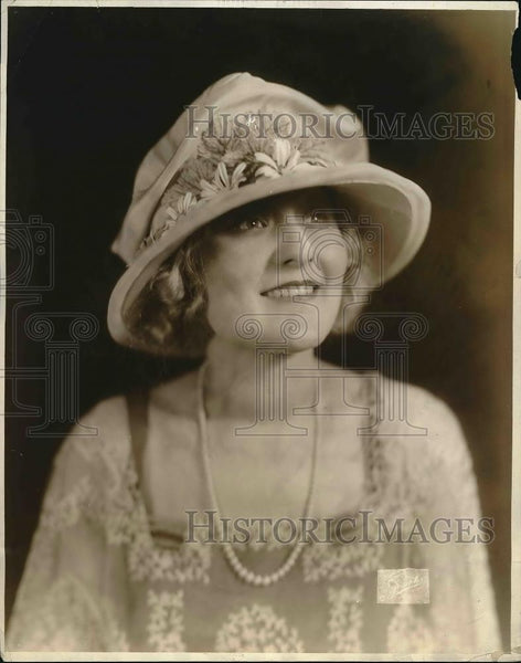 1921 Press Photo Summer Hat Fashion from Joseph - Historic Images