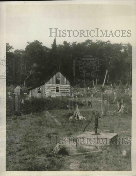 1923 Press Photo Indians Hunt & Fish For Livelihood In South Fox Island - Historic Images