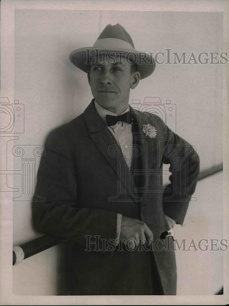 1922 Press Photo George Meader Tenor With The Metropolitan Opera Company - Historic Images