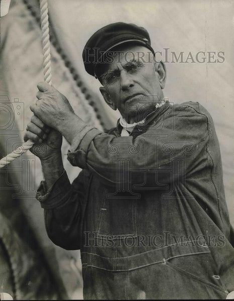 1927 Press Photo Capt. William Josephs sailed artic - Historic Images