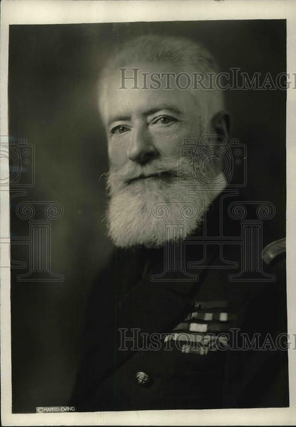 1922 Press Photo Admiral de Bon, Naval Advisor to French Arms Delegation - Historic Images