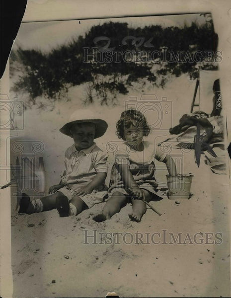 1919 Press Photo Charles Tiffany Richardson Jr & Beatrice Lawrence Breese - Historic Images