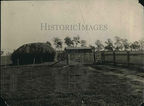 1923 Press Photo Pitt Town Farm, Overseer Quarters - Historic Images
