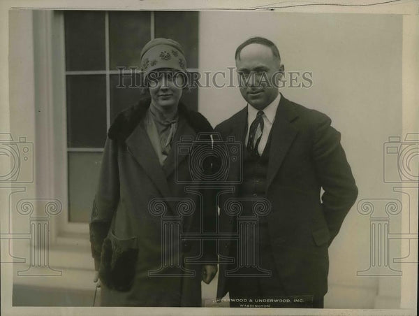 1927 Press Photo Elga Daniels Champion Cotton Grower & IC Marshall Corn Grower - Historic Images