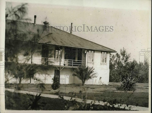 1930 Press Photo Employee Barracks at Snad Island - neb02702 - Historic Images