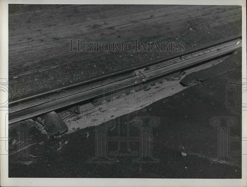 1940 Press Photo Overhead view of railway - Historic Images