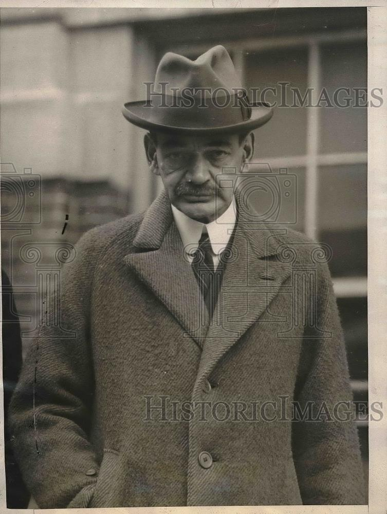 1925 Press Photo Caleb S. Jackson Treasurer Of Eastern Mutual Insurance Company - Historic Images