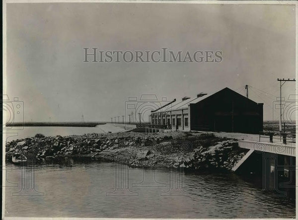 1923 Press Photo Minidaka Power House in Idaho - Historic Images