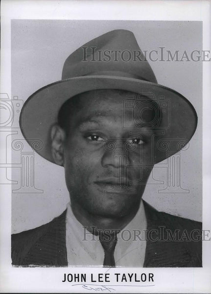 "Press Photo John Lee Taylor Added To FBI ""Ten Most Wanted List"" In New York - Historic Images"