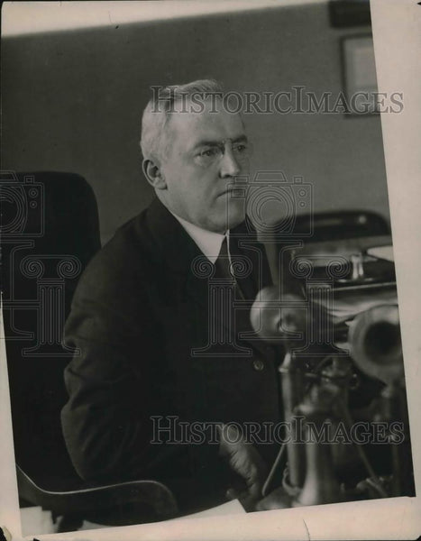 1918 Press Photo Thomas Drennan of N.Y. Fire commission. - Historic Images