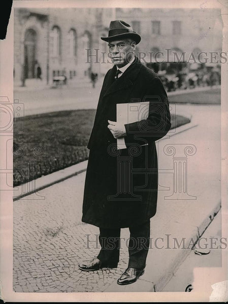 1922 Press Photo Professor Jeremiah Jenks Columbia University - Historic Images