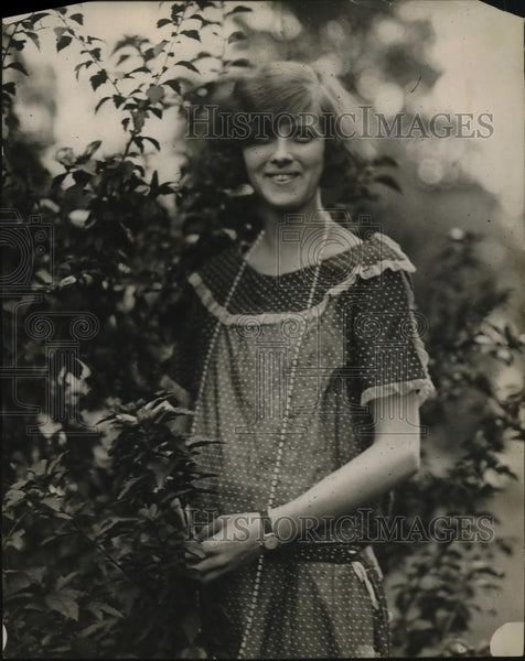 1923 Press Photo Ruby Webb - Historic Images