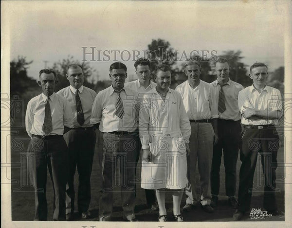 1930 Press Photo William Ritapgood, Indianapolis Manufacturing Workers - Historic Images