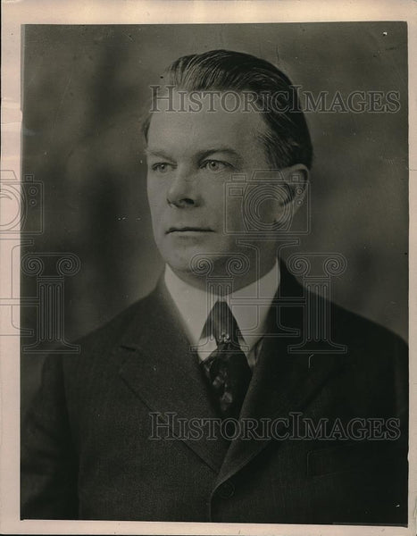 1919 Press Photo John Keenan Member of US Employee Compensation Commission - Historic Images