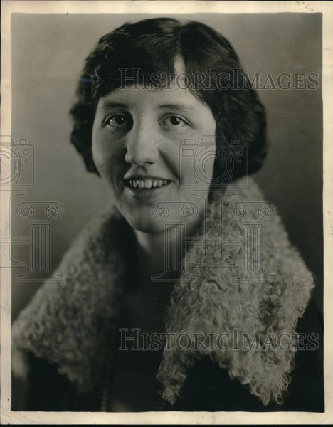 1924 Press Photo Singer Margaret Spalding Sturges - Historic Images