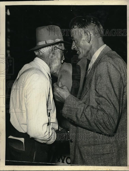 1936 Press Photo Frank Gome, H.D. DeMarritt of Kansas - Historic Images