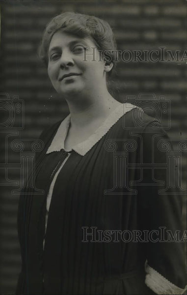 1921 Press Photo Miss Evelyn Hansen of Chicago, Ill. - Historic Images