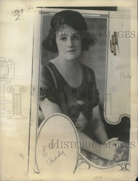 1922 Press Photo Mrs EC Frady Shot By Jealous Husband Dies of Injuries - Historic Images
