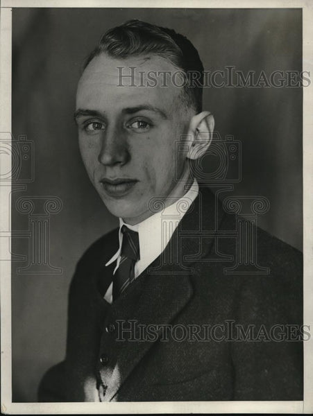 1930 Press Photo James E. Doran, Son of James M. Doran, Prohibition Commissioner - Historic Images