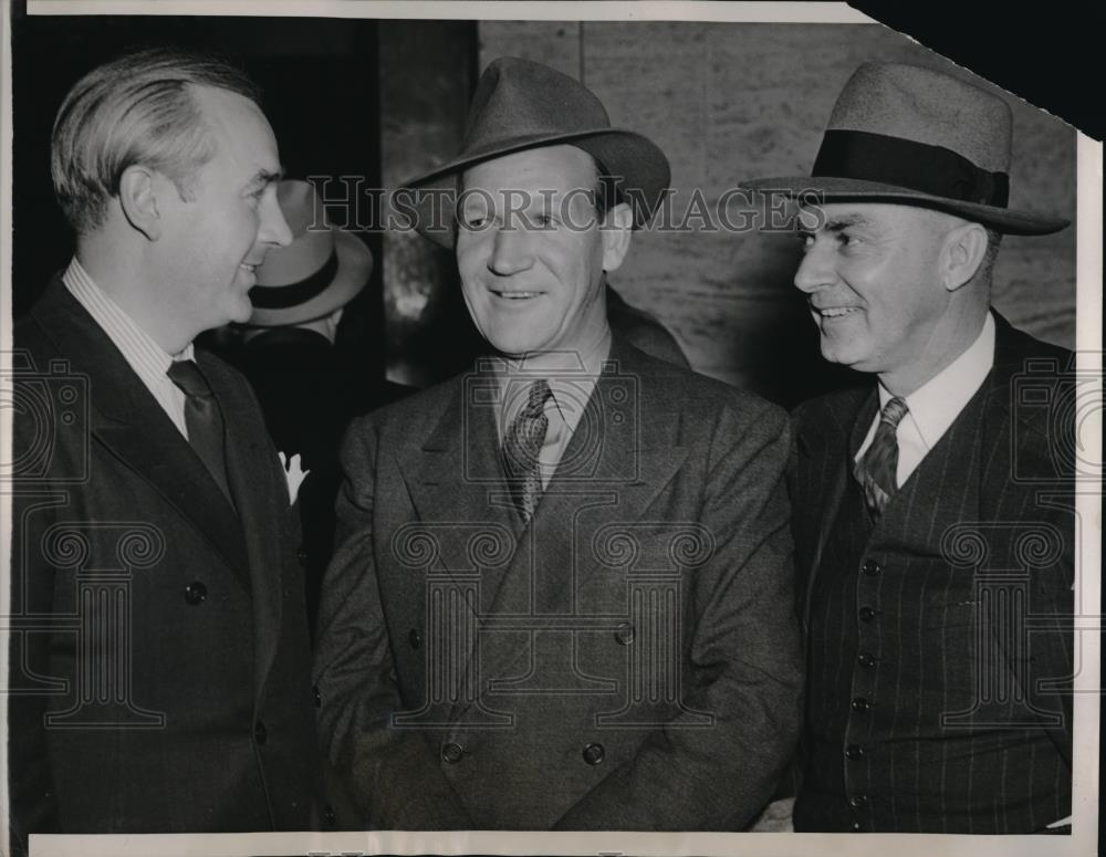 1940 Press Photo Minor League Team Owners Convene In Chicago At Annual Meeting - Historic Images