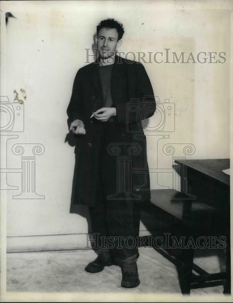 1936 Press Photo Seattle Times Reporter Paul O'Neil - Historic Images