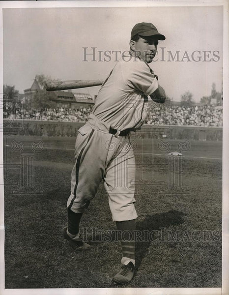 1938 Press Photo Chicago Cubs Reserve Catcher Robert Garbark To Play - Historic Images