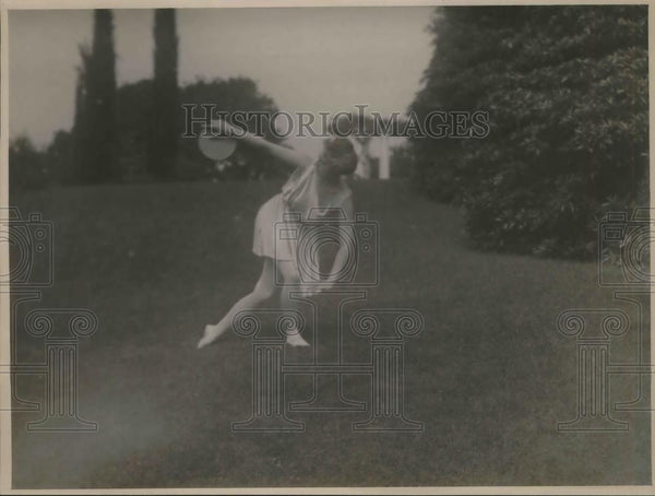 1923 Press Photo Emily D. Watts (1867-1968) jujitsu instructor - Historic Images