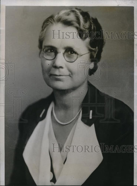 1934 Press Photo Mrs. N. S. Griggs of Mother-in-law club of Amarillo Texas - Historic Images