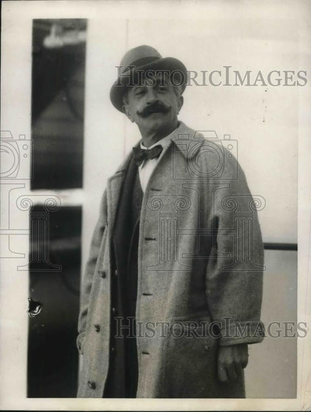 1923 Press Photo Charles Tree, oldest concert singer in England, visits NY - Historic Images