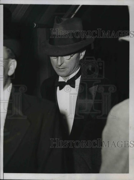 1934 Press Photo Lawrence Todd, D.C. correspondent for TASS, Soviet news agency - Historic Images