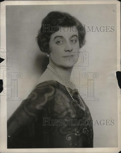 1926 Press Photo Elizabeth Day Soprano Singer Atwater Kent Radio Hour Broadcast - Historic Images