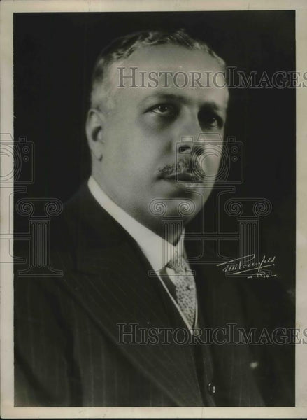 1930 Press Photo Dr. Octavio Mangabeira, Foreign Relations Minister of Brazil - Historic Images