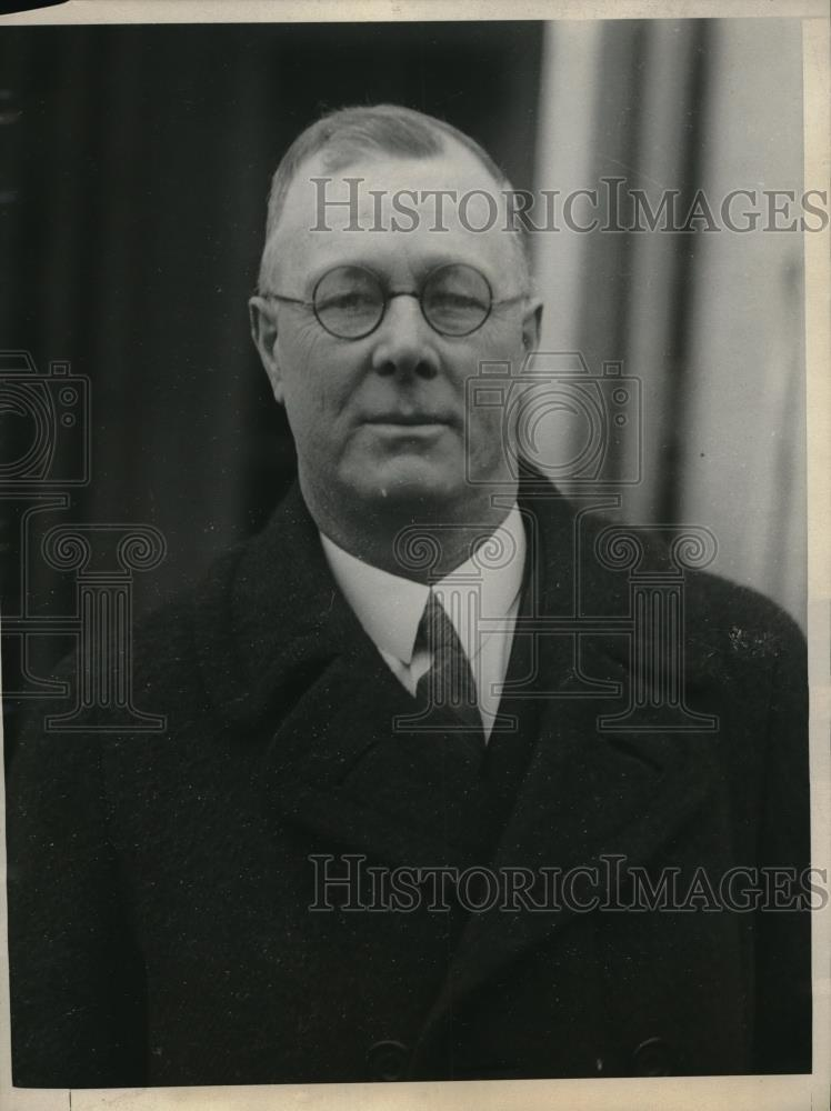 1924 Press Photo Police Inspector George Farrell of Boston, Mass - neb47442 - Historic Images