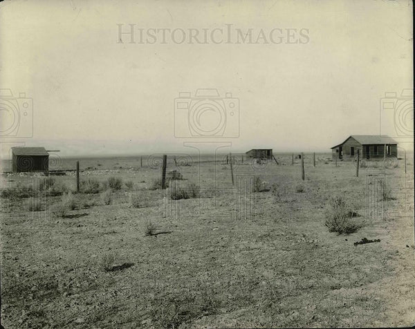 1922 Press Photo A Texas farm for an irrigation project - Historic Images