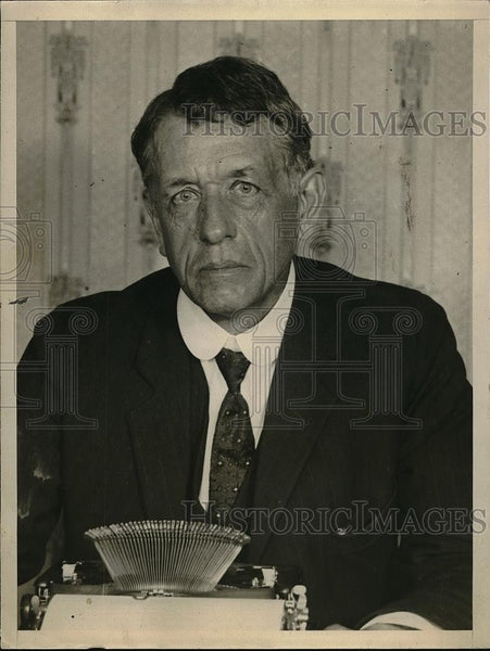 1925 Press Photo A.M. Herring, Plane Inventor - neb48342 - Historic Images