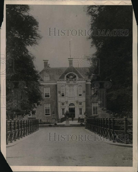 1922 Press Photo The House of the Ex-Kaiser in Holland - neb51737 - Historic Images