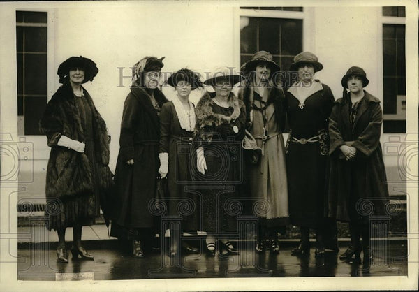 1921 Press Photo Committee of Nationally Representative Women - Historic Images
