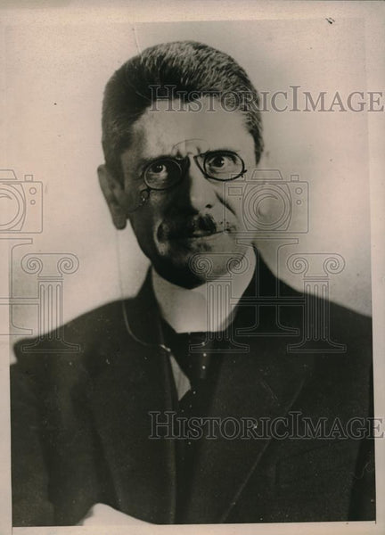 1923 Press Photo Dr. John Ball - Historic Images