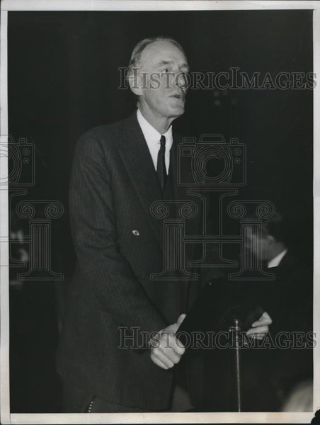 1933 Press Photo Joseph Choate Director Federal Alcoholic Control Administration - Historic Images